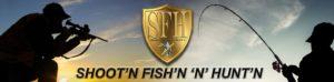 Shoot fish hunt.